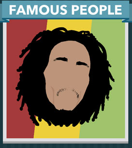 Icomania Answers Famous People Bob Marley