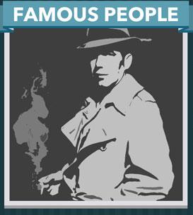 Icomania Answers Famous People Bogart