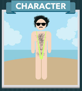 Icomania Answers Character Borat