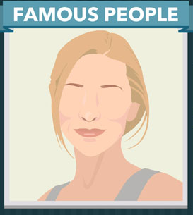 Icomania Answers Famous People Cate Blanchett