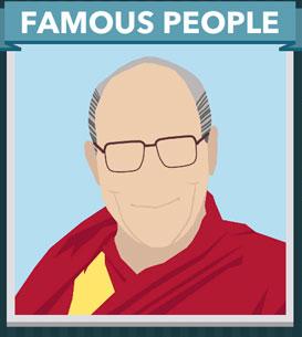 Icomania Answers Famous People Dalai Lama