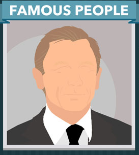 Icomania Answers Famous People Daniel Craig