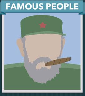 Icomania Answers Famous People Fidel Castro