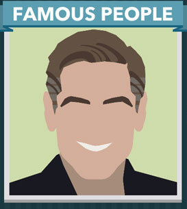 Icomania Answers Famous People George Clooney