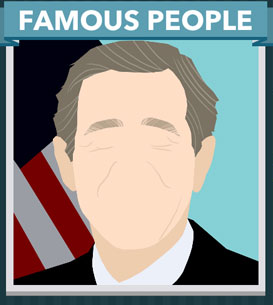 Icomania Answers Famous People George W Bush