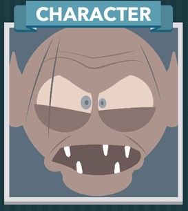 Icomania Answers Character Gollum