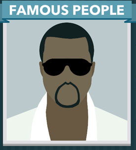 Icomania Answers Famous People Kanye West