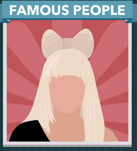 Icomania Answers Famous People Lady Gaga