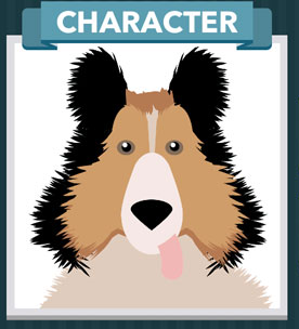 Icomania Answers Character Lassie