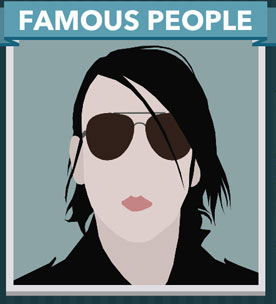 Icomania Answers Famous People Marilyn Manson