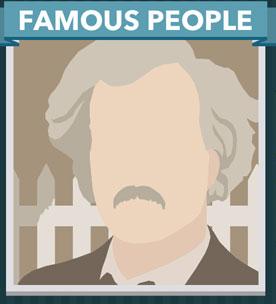 Icomania Answers Famous People Mark Twain