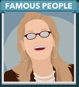 Icomania Answers Famous People Meryl Streep