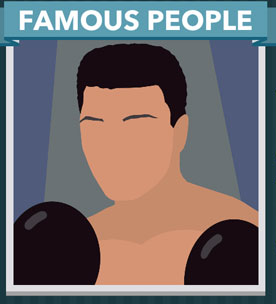 Icomania Answers Famous People Muhammad Ali