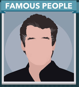 Icomania Answers Famous People Pierce Brosnan