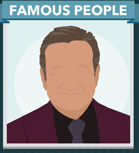 Icomania Answers Famous People Robin Williams