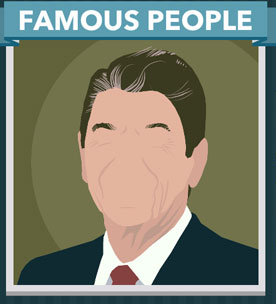 Icomania Answers Famous People Ronald Reagan