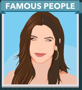 Icomania Answers Famous People Sandra Bullock