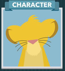 Icomania Answers Character Simba