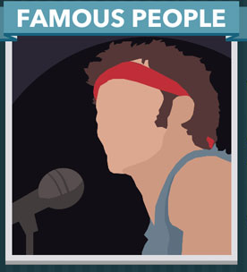 Icomania Answers Famous People Springsteen