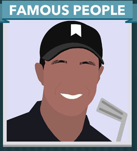 Icomania Answers Famous People Tiger Woods