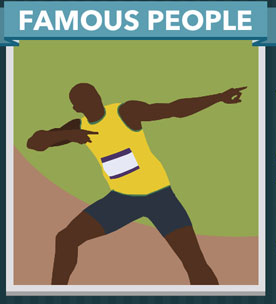 Icomania Answers Famous People Usain Bolt