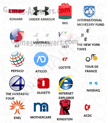 Logo Quiz answers level 10 part 2