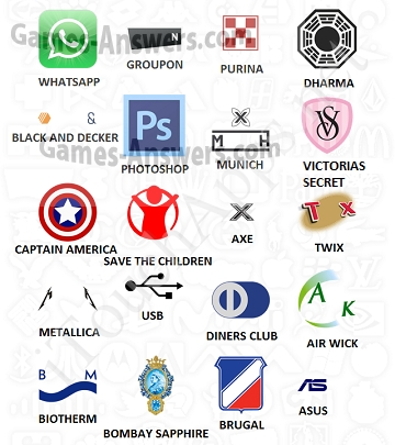Logo Quiz answers level 11 part 3