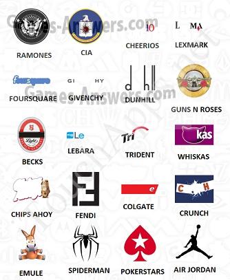Logo Quiz answers level 12 part 3