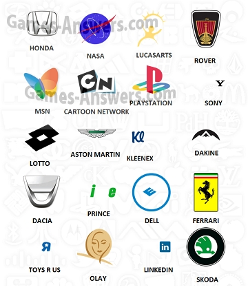Logo Quiz Answers level 2 - Games-