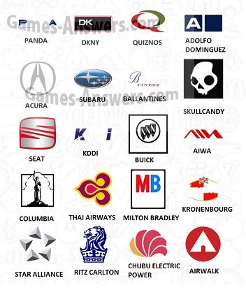 Logo Quiz answers level 7 part 2
