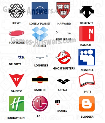 Logo Quiz answers level 9 part 2